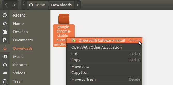 Installing Google Chrome Ubuntu