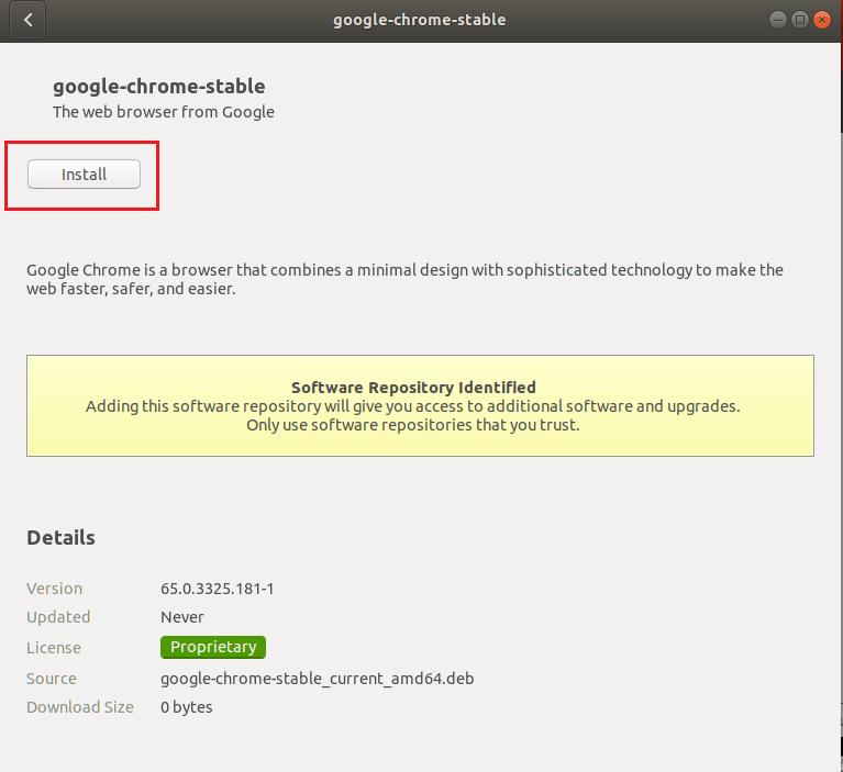 Google Chrome on Ubuntu